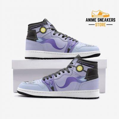 Chandelure Pokémon Custom J-Force Shoes 3 / White Mens