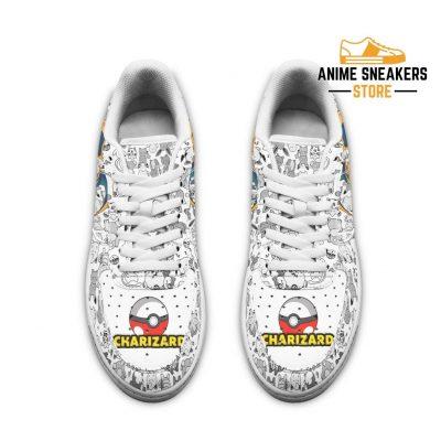 Charizard Sneakers Pokemon Shoes Fan Gift Idea Pt04 Air Force