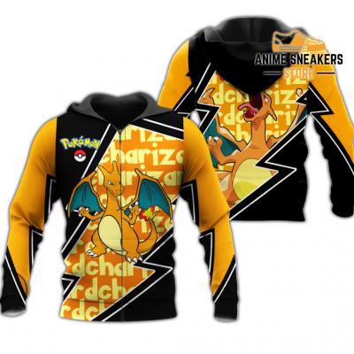 Charizard Zip Hoodie Costume Pokemon Shirt Fan Gift Idea Va06 Adult / S All Over Printed Shirts