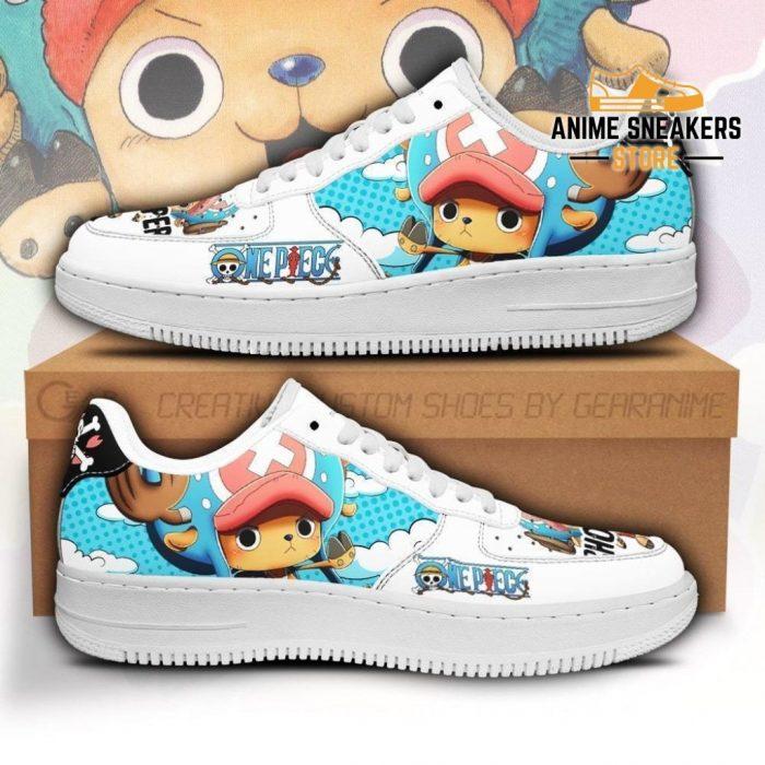 Chopper Sneakers Custom One Piece Anime Shoes Fan Pt04 Men / Us6.5 Air Force