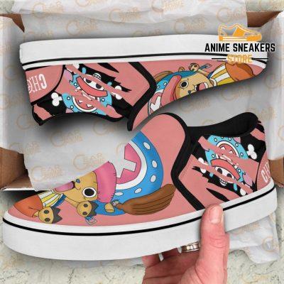 Chopper Slip On Shoes One Piece Custom Anime Slip-On