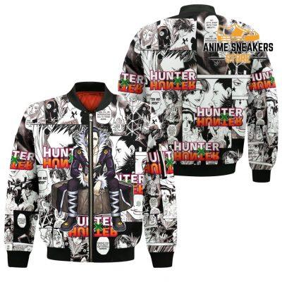 Chrollo Lucilfer Hunter X Shirt Sweater Hxh Anime Hoodie Jacket Bomber / S All Over Printed Shirts