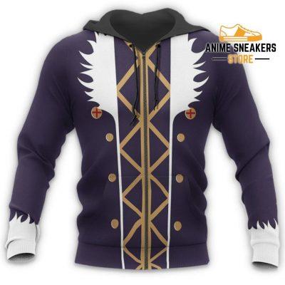 Chrollo Lucilfer Hunter X Uniform Shirt Hxh Anime Hoodie Jacket All Over Printed Shirts