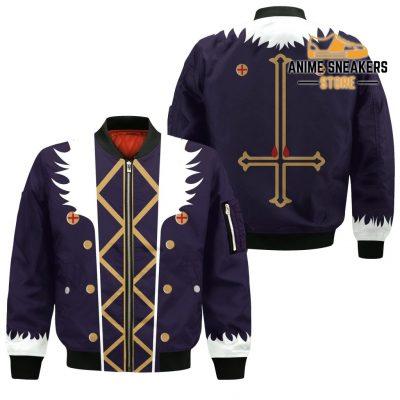 Chrollo Lucilfer Hunter X Uniform Shirt Hxh Anime Hoodie Jacket Bomber / S All Over Printed Shirts