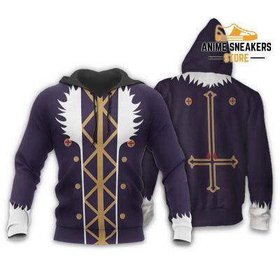 Chrollo Lucilfer Hunter X Uniform Shirt Hxh Anime Hoodie Jacket / S All Over Printed Shirts