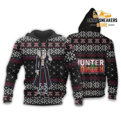 Chrollo Lucilfer Ugly Christmas Sweater Hunter X Gift Hoodie / S All Over Printed Shirts