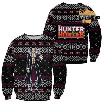 Chrollo Lucilfer Ugly Christmas Sweater Hunter X Gift / S All Over Printed Shirts
