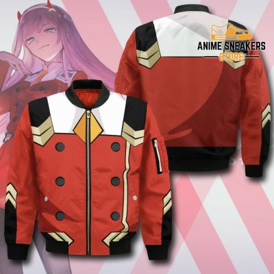 Code 002 Zero Two Uniform Hoodie Darling In The Franxx Jacket Bomber / S All Over Printed Shirts