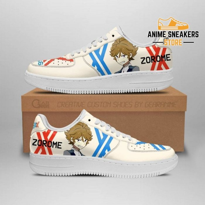Darling In The Franxx Shoes Code 666 Zorome Sneakers Anime Men / Us6.5 Air Force