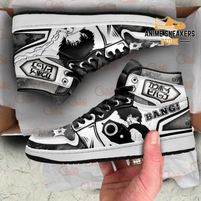 Cowboy Bebop Sneakers Spike Spiegel Anime Custom Shoes Men / Us6.5 Jd