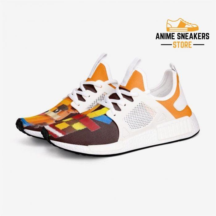 Crash Bandicoot X Aku-Aku Custom Nomad Shoes 3 / White Mens