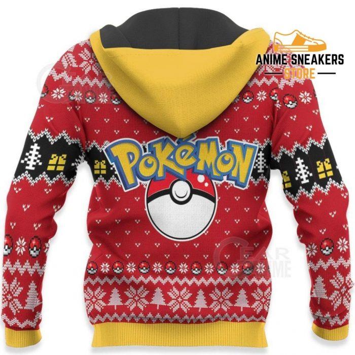 Cute Pikachu Ugly Christmas Sweater Pokemon Anime Xmas Gift All Over Printed Shirts