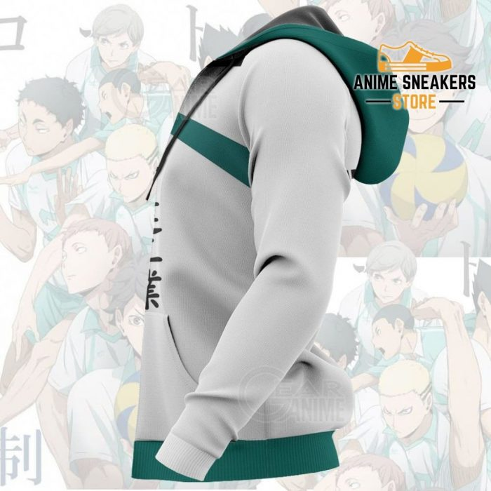 Date Tech High Haikyuu Anime Cosplay Costumes Volleyball Uniform All Over Printed Shirts