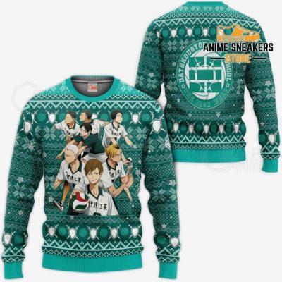 Dateko Ugly Christmas Sweater Date Tech High Haikyuu Xmas Va10 / S All Over Printed Shirts