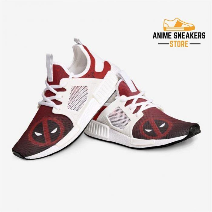 Deadpool Splats Custom Nomad Shoes Mens