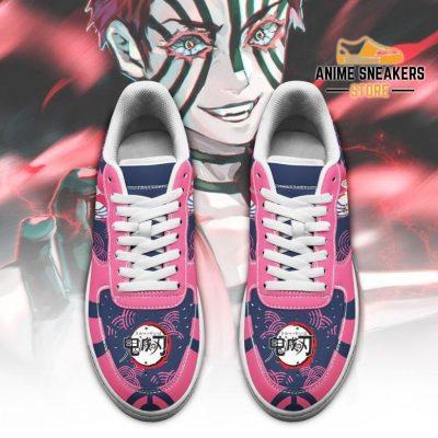 Akaza Sneakers Custom Demon Slayer Anime Shoes Fan Pt05 Air Force