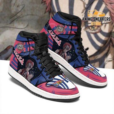 Demon Akaza Shoes Boots Slayer Anime Sneakers Fan Gift Idea Jd