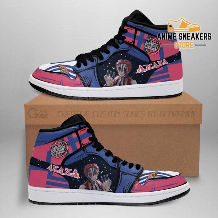 Demon Akaza Shoes Boots Slayer Anime Sneakers Fan Gift Idea Men / Us6.5 Jd