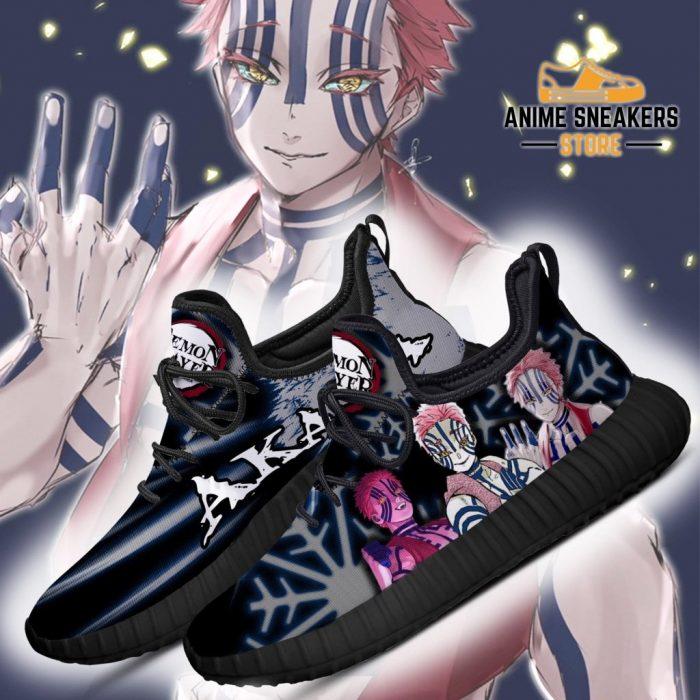 Demon Slayer Akaza Reze Shoes Custom Anime Sneakers Costume