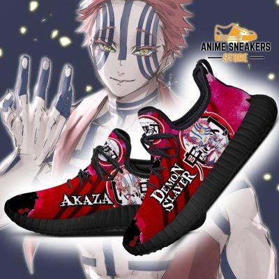 Demon Akaza Reze Shoes Slayer Anime Sneakers Fan Gift Idea