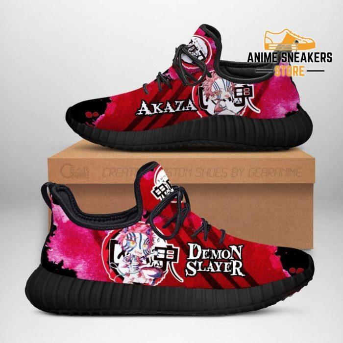 Demon Akaza Reze Shoes Slayer Anime Sneakers Fan Gift Idea Men / Us6