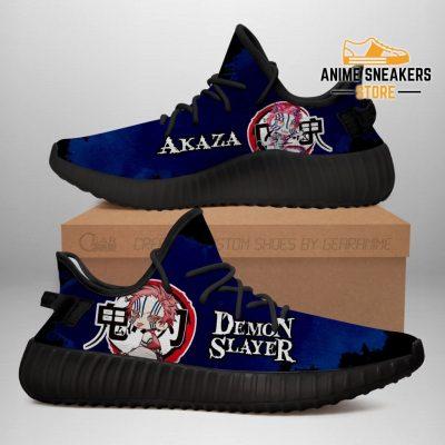 Akaza Yeezy Shoes Demon Slayer Anime Sneakers Fan Gift Tt04 Men / Us6