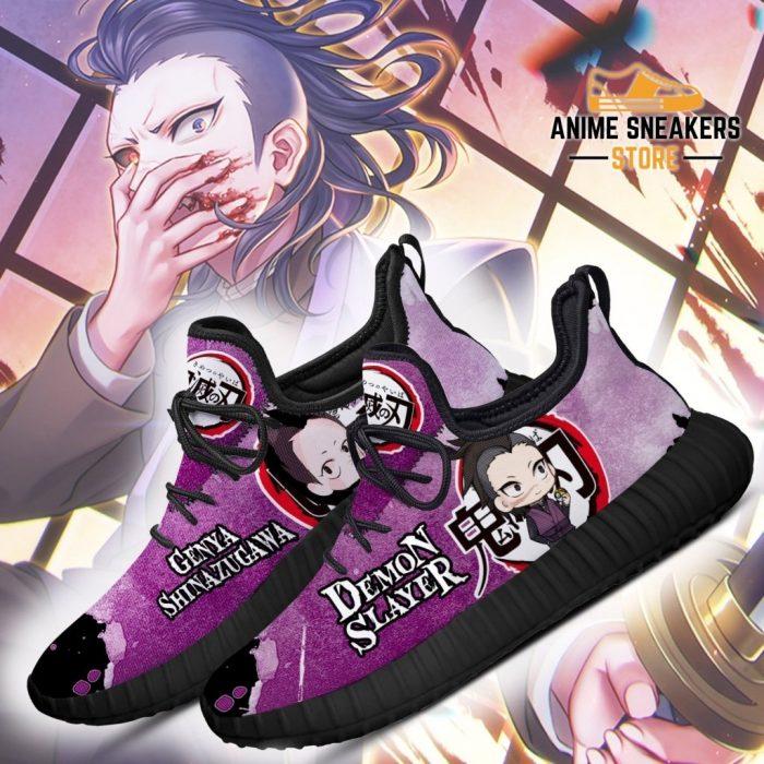 Genya Reze Shoes Costume Demon Slayer Anime Sneakers Fan Gift Idea