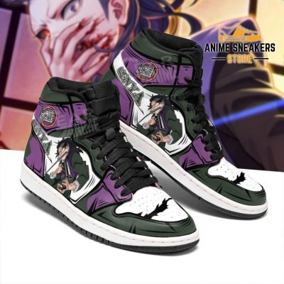 Genya Shinazugawa Shoes Boots Demon Slayer Anime Sneakers Fan Gift Idea Jd