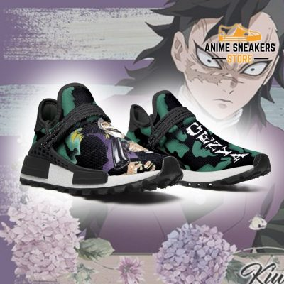 Demon Slayer Shoes Genya Shinazugawa Anime Sneakers Nmd