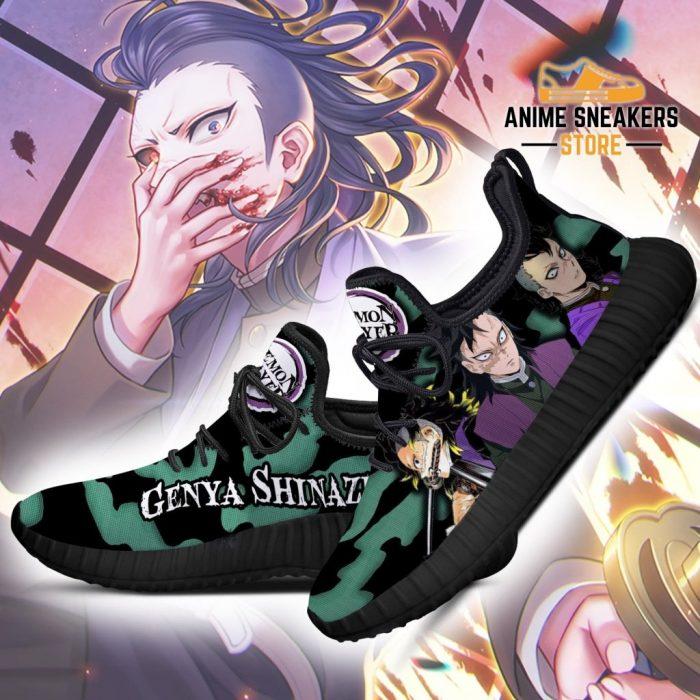 Demon Slayer Genya Shinazugawa Reze Shoes Custom Anime Sneakers