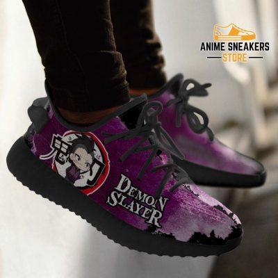 Genza Shinazugawa Yeezy Shoes Demon Slayer Anime Sneakers Fan Gift Tt04