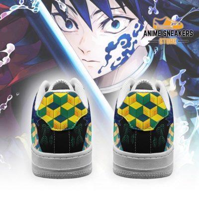 Giyu Sneakers Custom Demon Slayer Anime Shoes Fan Pt05 Air Force