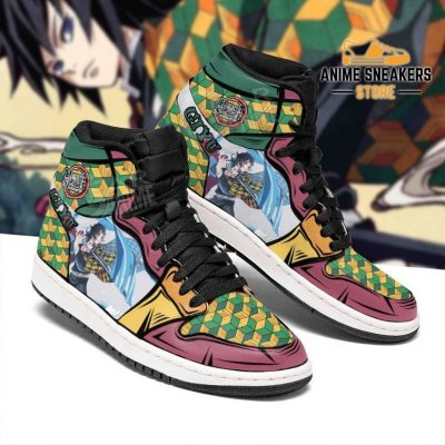 Giyu Shoes Boots Skill Water Breathing Demon Slayer Anime Sneakers Fan Jd