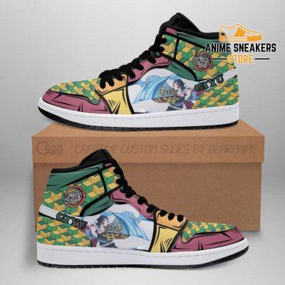 Giyu Shoes Boots Skill Water Breathing Demon Slayer Anime Sneakers Fan Men / Us6.5 Jd