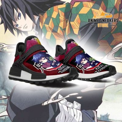 Giyu Tomioka Shoes Custom Demon Slayer Anime Sneakers Nmd