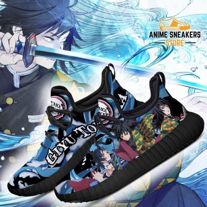 Demon Slayer Giyu Tomioka Reze Shoes Custom Anime Sneakers