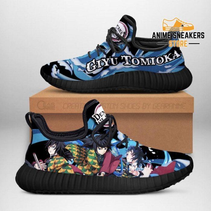 Demon Slayer Giyu Tomioka Reze Shoes Custom Anime Sneakers Men / Us6