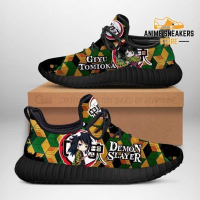 Giyu Tomioka Reze Shoes Demon Slayer Anime Sneakers Fan Gift Idea Men / Us6