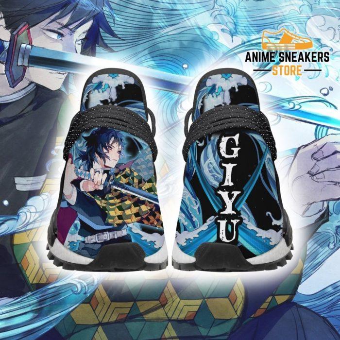 Demon Slayer Shoes Giyu Water Breathing Anime Sneakers Men / Us6 Nmd