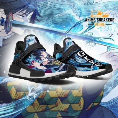 Demon Slayer Shoes Giyu Water Breathing Anime Sneakers Nmd