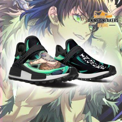 Demon Slayer Shoes Inosuke Beast Breathing Anime Sneakers Nmd