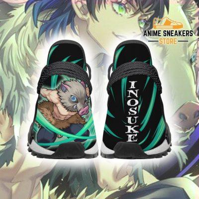Demon Slayer Shoes Inosuke Beast Breathing Anime Sneakers Men / Us6 Nmd