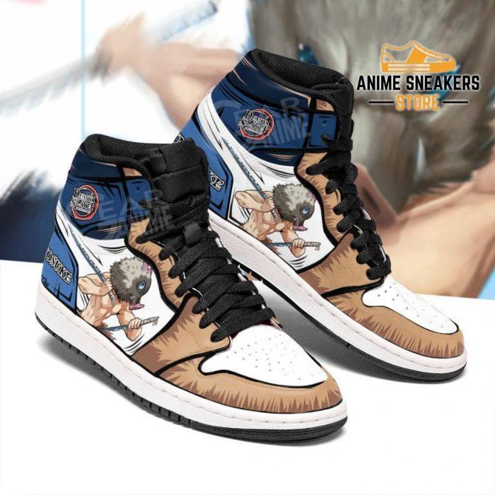 Inosuke Shoes Boots Skill Beast Breathing Demon Slayer Anime Sneakers Fan Jd