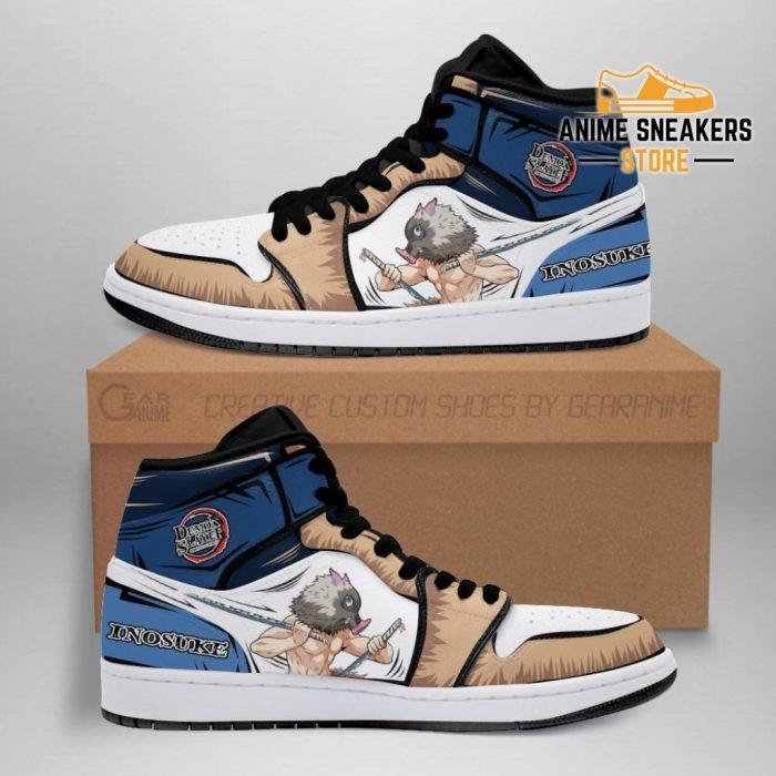 Inosuke Shoes Boots Skill Beast Breathing Demon Slayer Anime Sneakers Fan Men / Us6.5 Jd