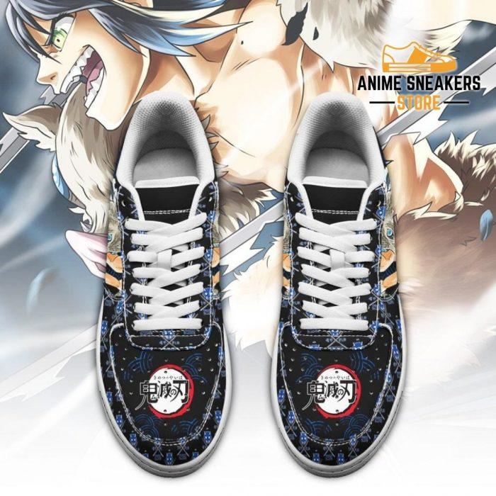 Inosuke Sneakers Custom Demon Slayer Anime Shoes Fan Pt05 Air Force