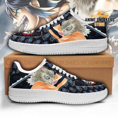 Inosuke Sneakers Custom Demon Slayer Anime Shoes Fan Pt05 Men / Us6.5 Air Force