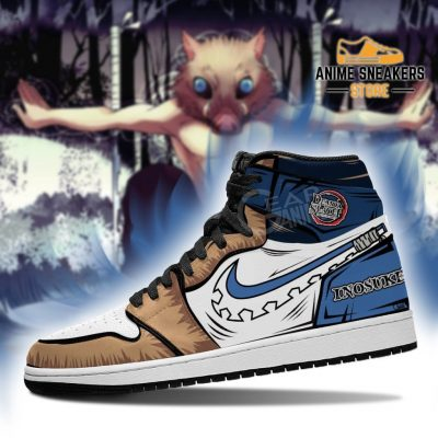 Inosuke Sneaker Boots J1 No Pic Demon Slayer Shoes Anime Fan Gift Mn06