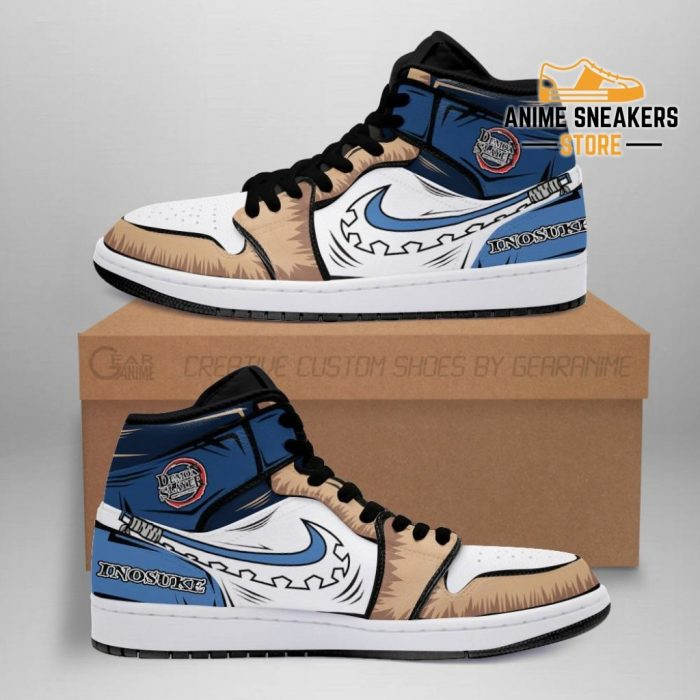 Inosuke Sneaker Boots J1 No Pic Demon Slayer Shoes Anime Fan Gift Mn06 Men / Us6.5