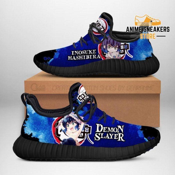 Inosuke Reze Shoes Demon Slayer Anime Sneakers Fan Gift Idea Men / Us6