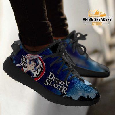 Inosuke Yeezy Shoes Demon Slayer Anime Sneakers Fan Gift Tt04